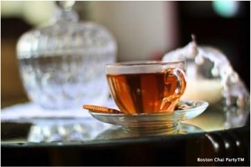 tea tasting black leaves boston chai party
