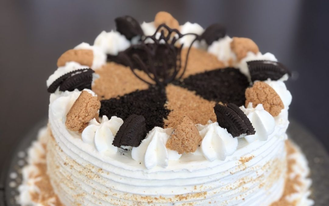 Chai Ice Cream Cake